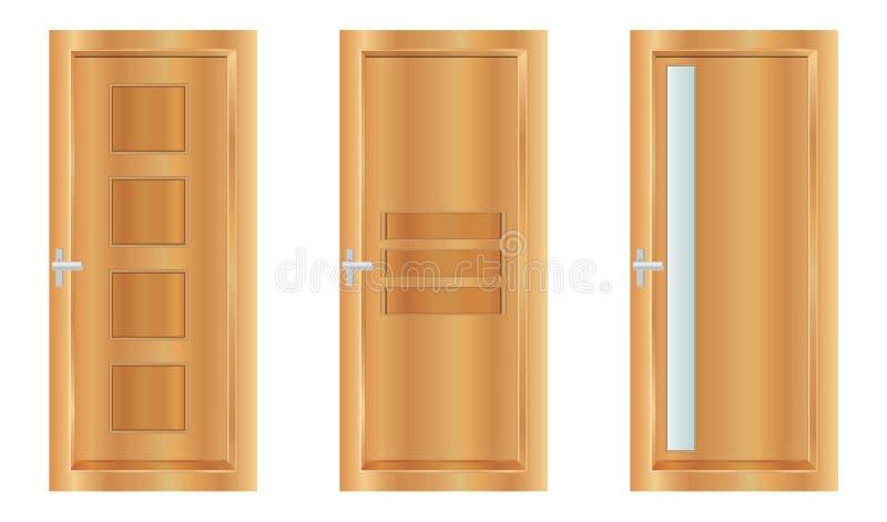 Portes illustration stock