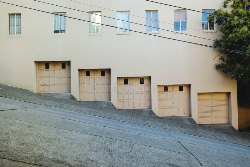 Portes de garage image stock