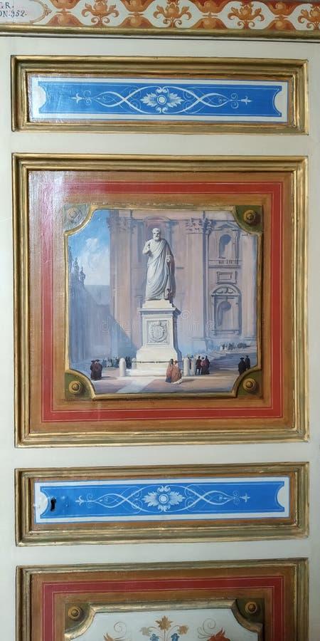 Portes de placard au musée de Vatican, Rome, Italie photographie stock libre de droits