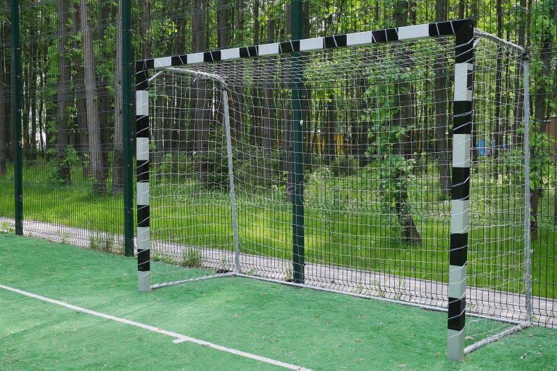 Portes du football images libres de droits