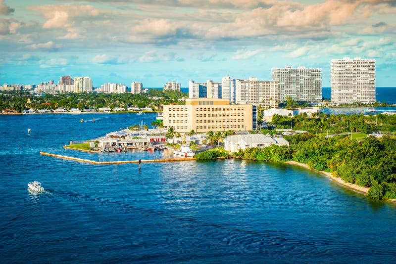 PortEverglades, Ft Lauderdale, Florida arkivfoto