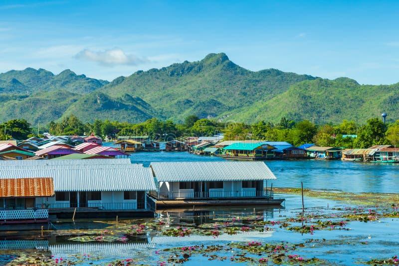 Portflod Kwai. royaltyfri fotografi