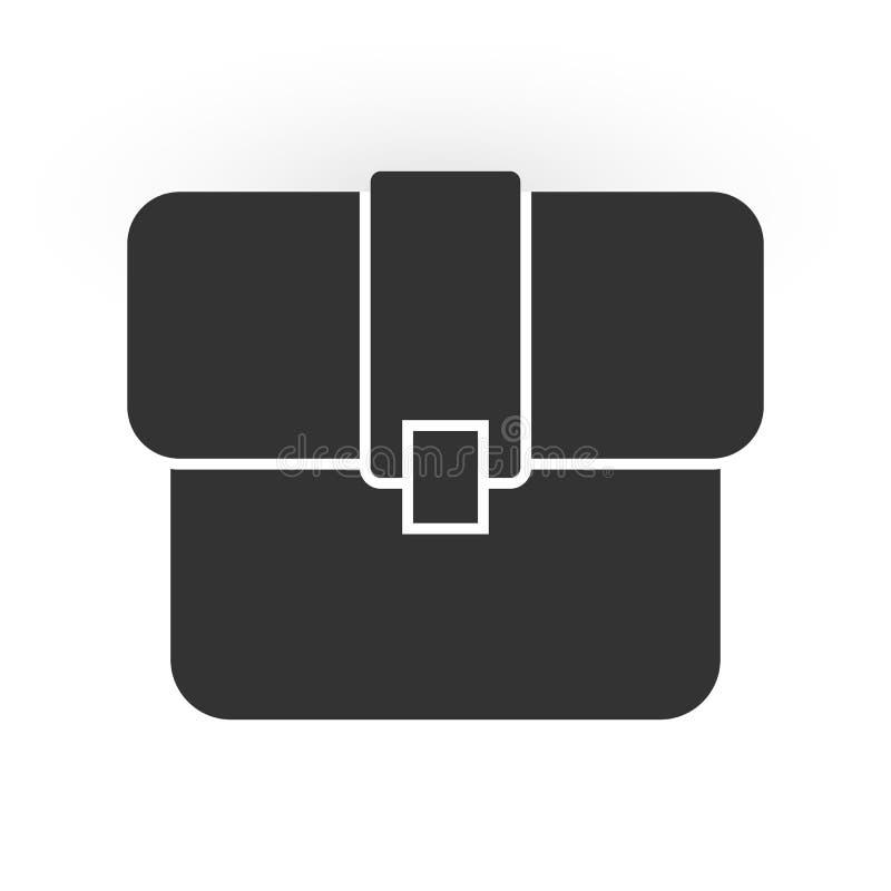 Portfolio icon for logo design, website design or app design royalty free illustration