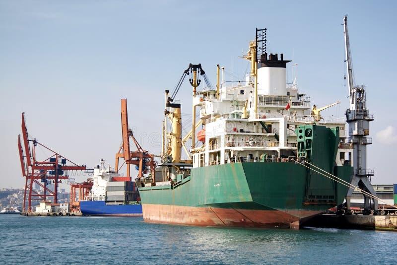 porthandel royaltyfria foton