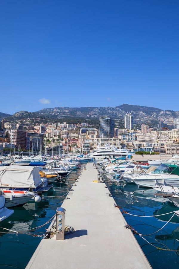 PortHercule in Monaco lizenzfreie stockfotografie