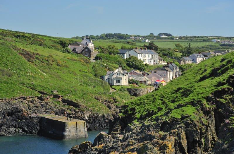 Porthgain, Pembrokeshire, Wales fotos de stock royalty free