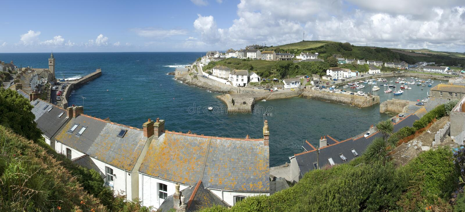 Porthleven stock photography