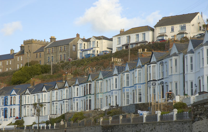 Porthleven royalty free stock image