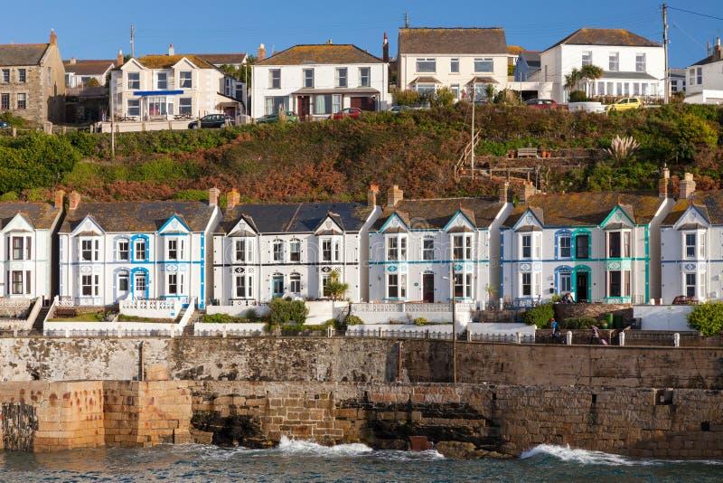 Porthleven Cornwall Anglia fotografia stock