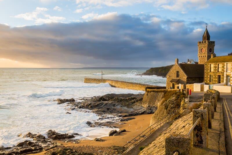 Porthleven Cornwall England uk zdjęcie royalty free