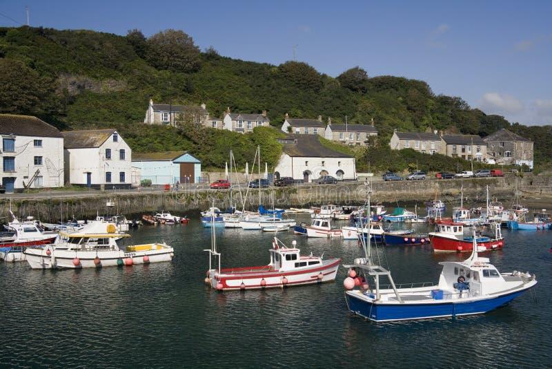 Porthleven - Cornwall - Vereinigtes Königreich stockfoto