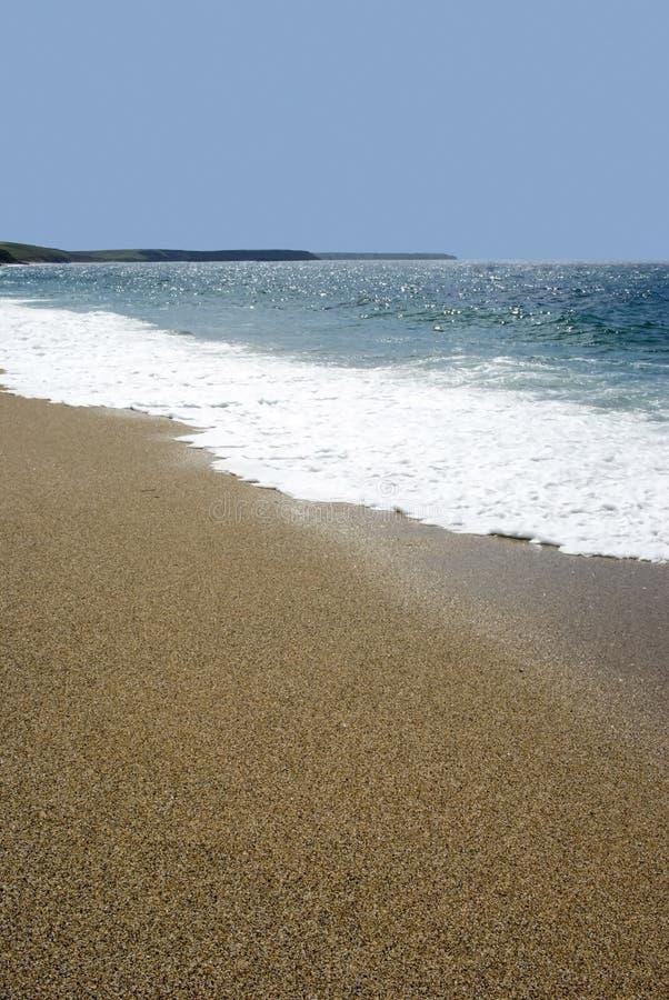 Porthleven sands royalty free stock image