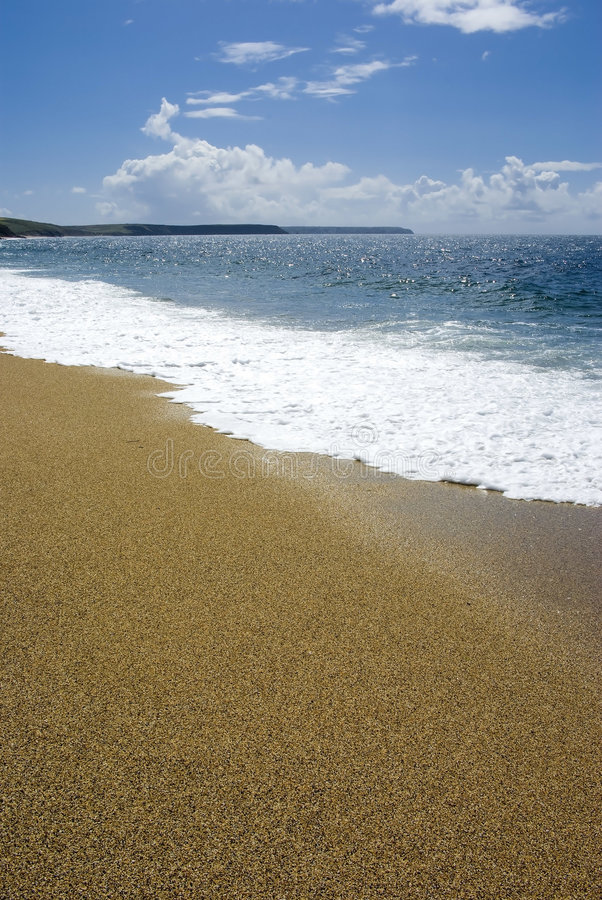 Porthleven sands stock photos