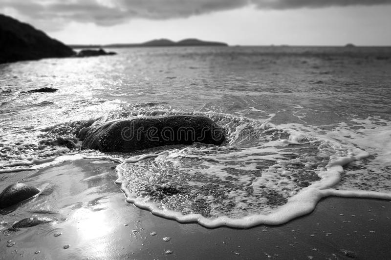 Download porthmelgan beach stock image image of mono coastline 103072169