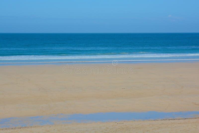 Porthmeor海滩, StIves,康沃尔郡,英国 库存图片