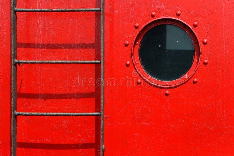 porthole трапа стоковое изображение