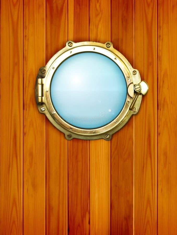 porthole стоковое фото rf