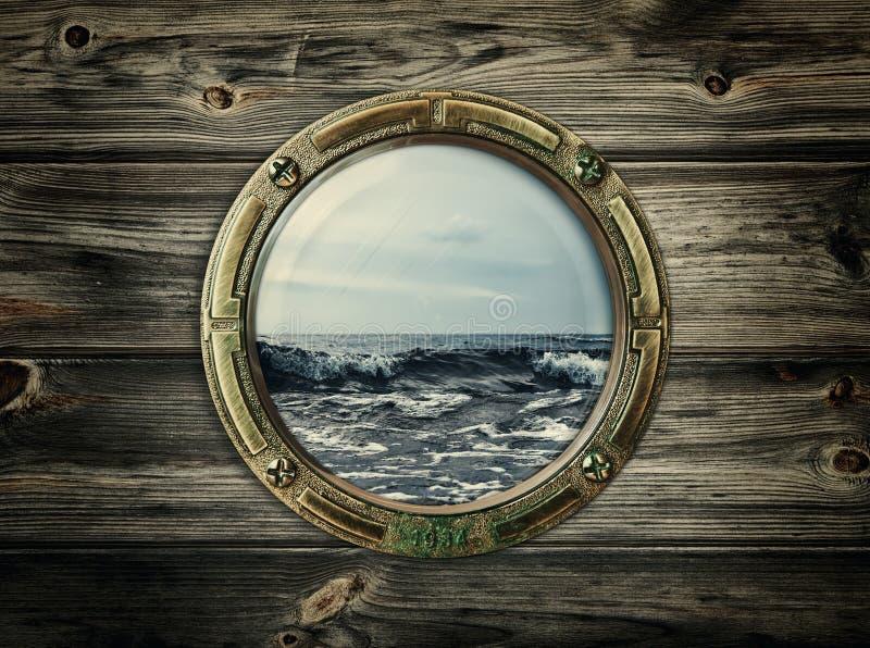 porthole стоковое изображение rf