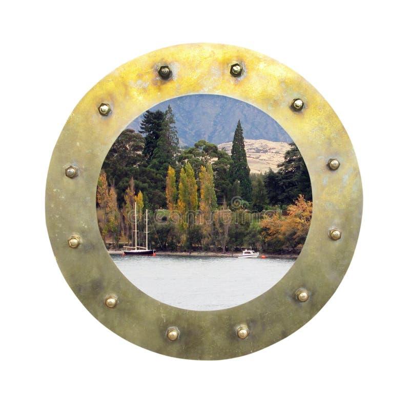Free Porthole With Scene Royalty Free Stock Photo - 19751985