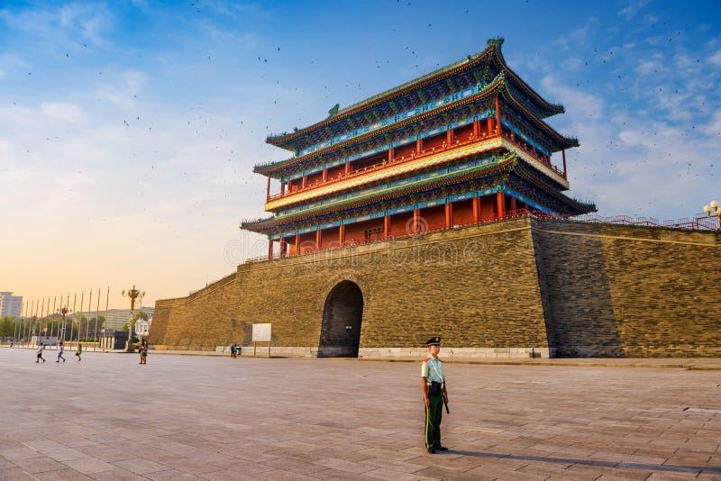 Porthus i den Tiananmen fyrkanten royaltyfri fotografi