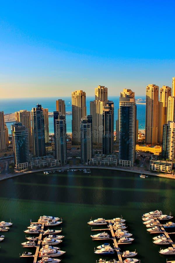 Porticciolo del Dubai fotografia stock libera da diritti