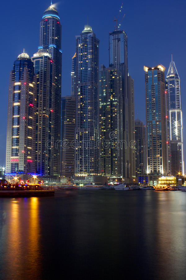 Porticciolo del Dubai - Dubai Emirati Arabi Uniti immagine stock