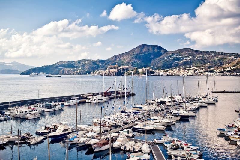 Porticciolo dell'yacht fotografia stock libera da diritti