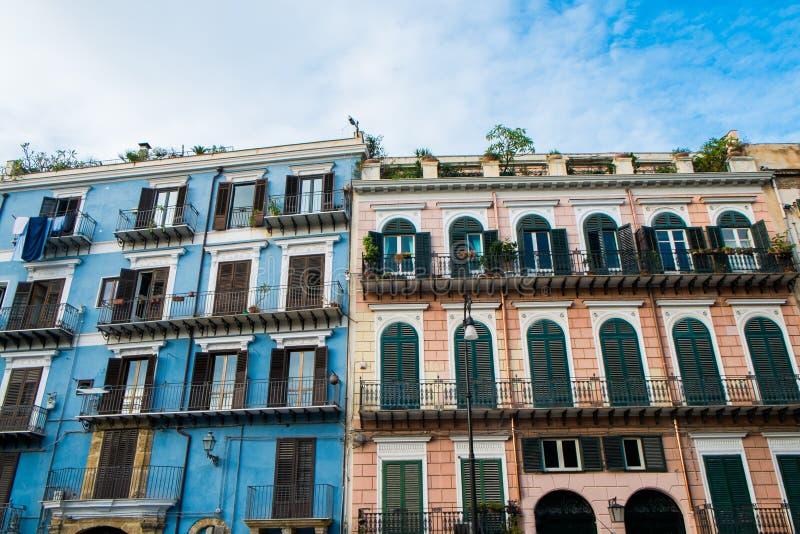 Porticciolo della piazza di Palermo fotografia stock