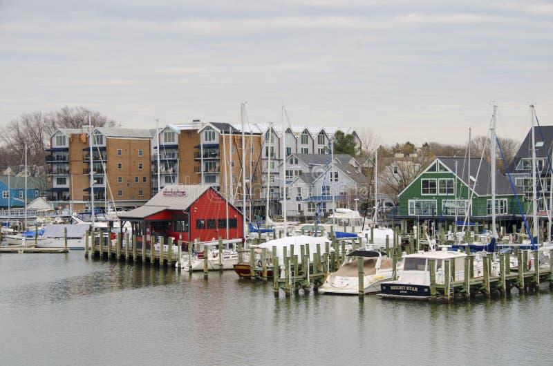 Porticciolo di Annapolis immagini stock libere da diritti