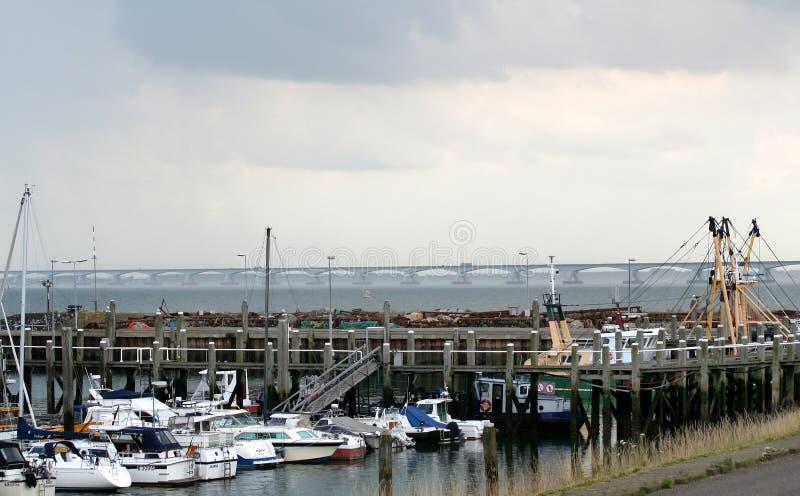 Porticciolo di Colijnsplaat immagine stock