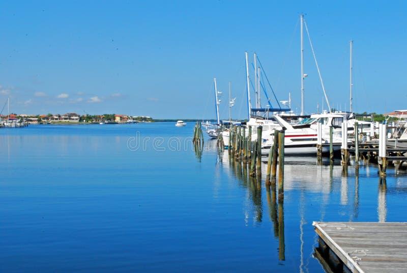 Porticciolo di Florida del Palmetto immagine stock libera da diritti