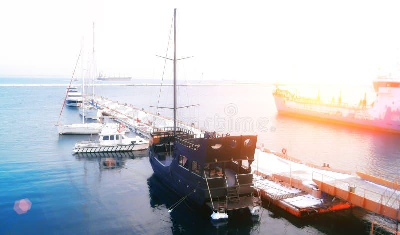 Porticciolo di Puerto in Benalmadena Costa del Sol, provincia di Malaga, Andalusia, Spagna fotografia stock