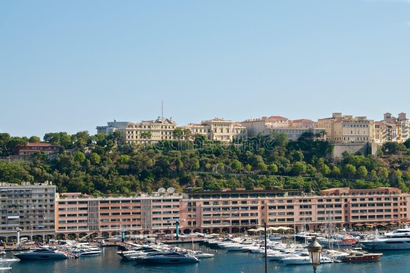 Porticciolo in Monaco fotografia stock libera da diritti