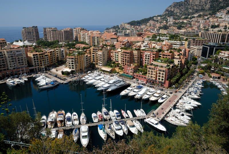 Porticciolo a Monte Carlo fotografie stock libere da diritti