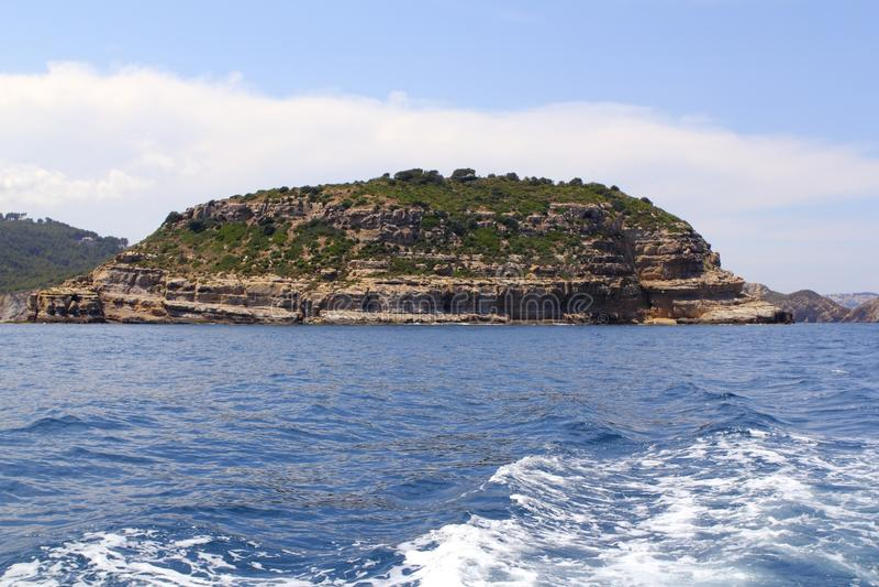 Download Portichol Island In Javea Alicante Province Spain Stock Photo - Image of mountain, ocean: 16024092