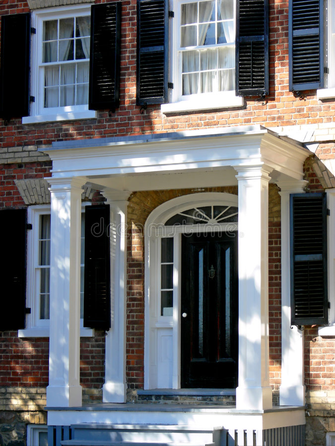 portico royaltyfri bild