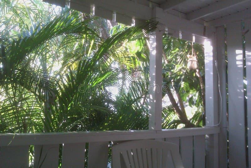 Portico del Key West fotografia stock