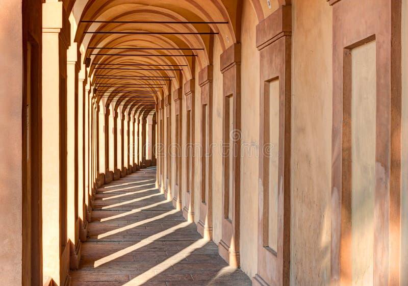 Portico di San Luca, Bologna lizenzfreie stockbilder