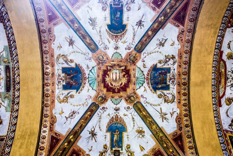 Porticoes de Bolonia, Italia imagen de archivo libre de regalías