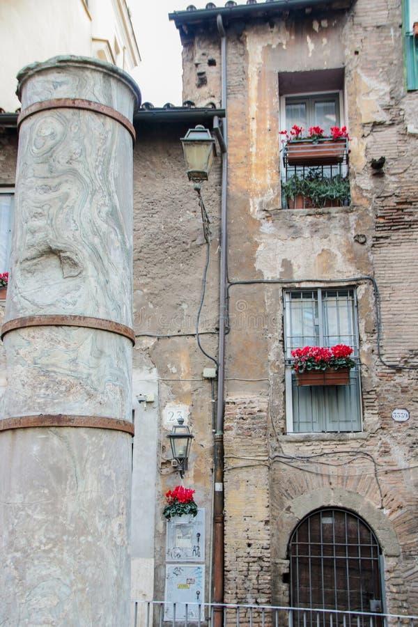 Porticus Octaviae foto de stock