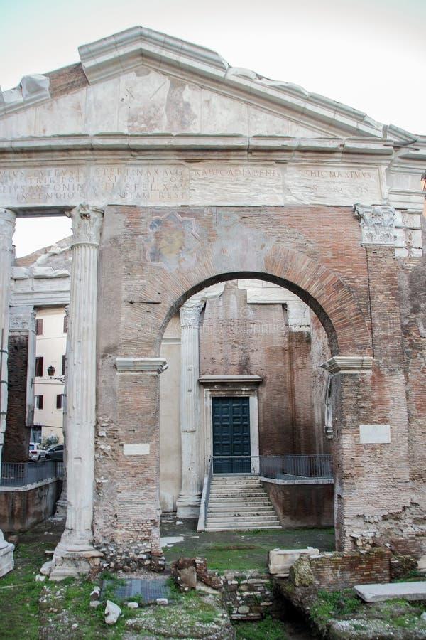 Porticus Octaviae fotos de stock royalty free
