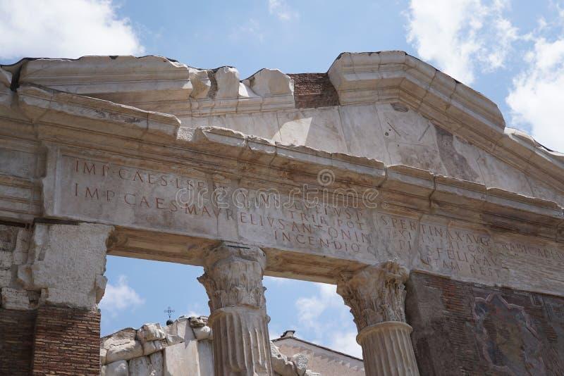 Porticus Octaviae 库存图片