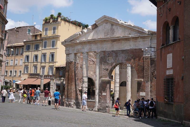 Porticus Octaviae obraz stock