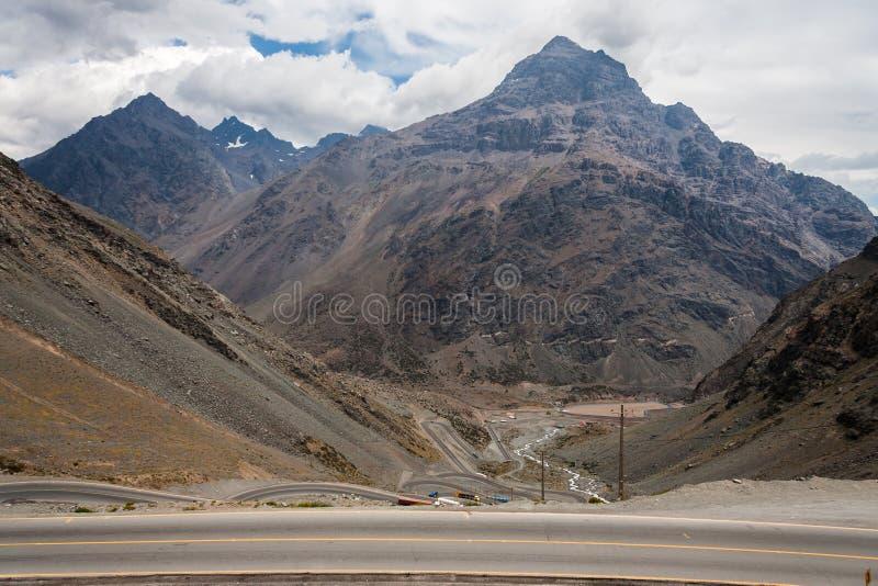 Portillo Bergen Chili stock afbeelding