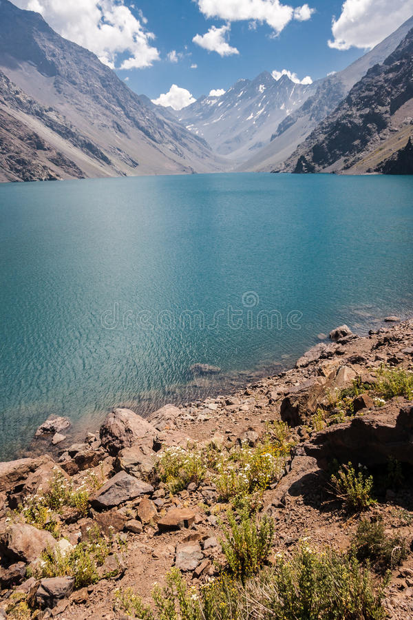 Download Portillo Inca Laguna And Mountains Chile Stock Image - Image: 32275505
