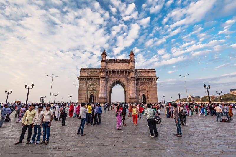 portindia mumbai royaltyfri bild