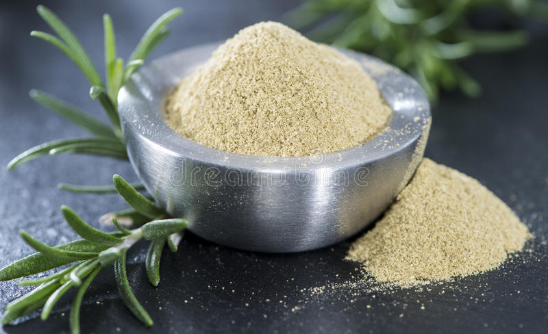 Download Portion of dried Rosemary stock image. Image of leaves - 39508721