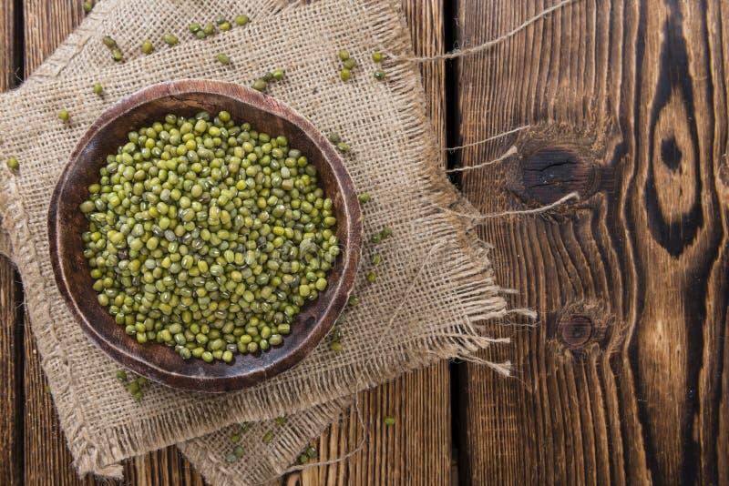 Portion of Mung Beans stock photos