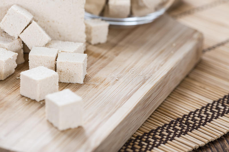 Portion of Tofu royalty free stock images