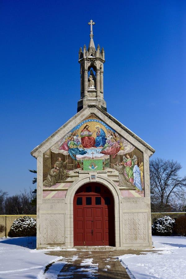 Portiuncula kapell arkivbild